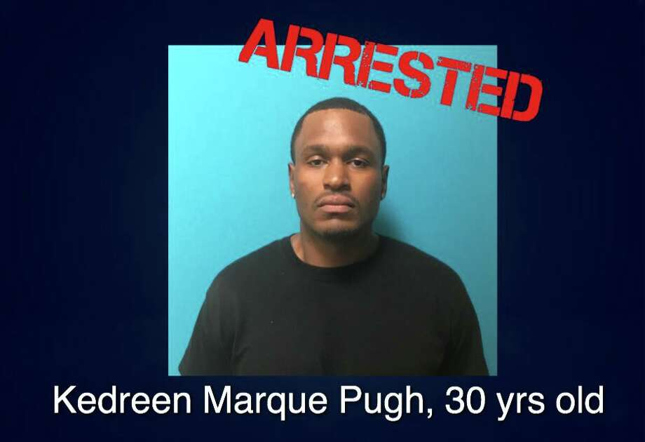 The suspect, Kedreen Marque Pugh, now faces a charge of murder in the death of Brianna De La Cruz. He remains in the Bexar County Jail early Wednesday, and he faces additional charges of felony possession of a firearm and two counts of possession of a controlled substance with intent to deliver. Photo: San Antonio Police Department