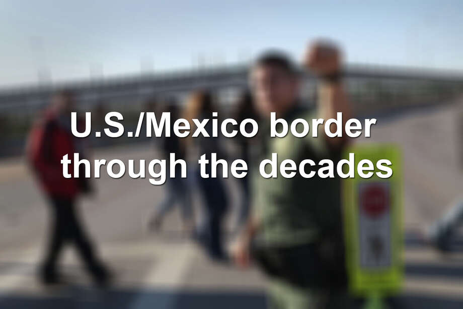 Scroll through to see what the U.S./Mexico border has looked like over the years. Photo: LMTonline