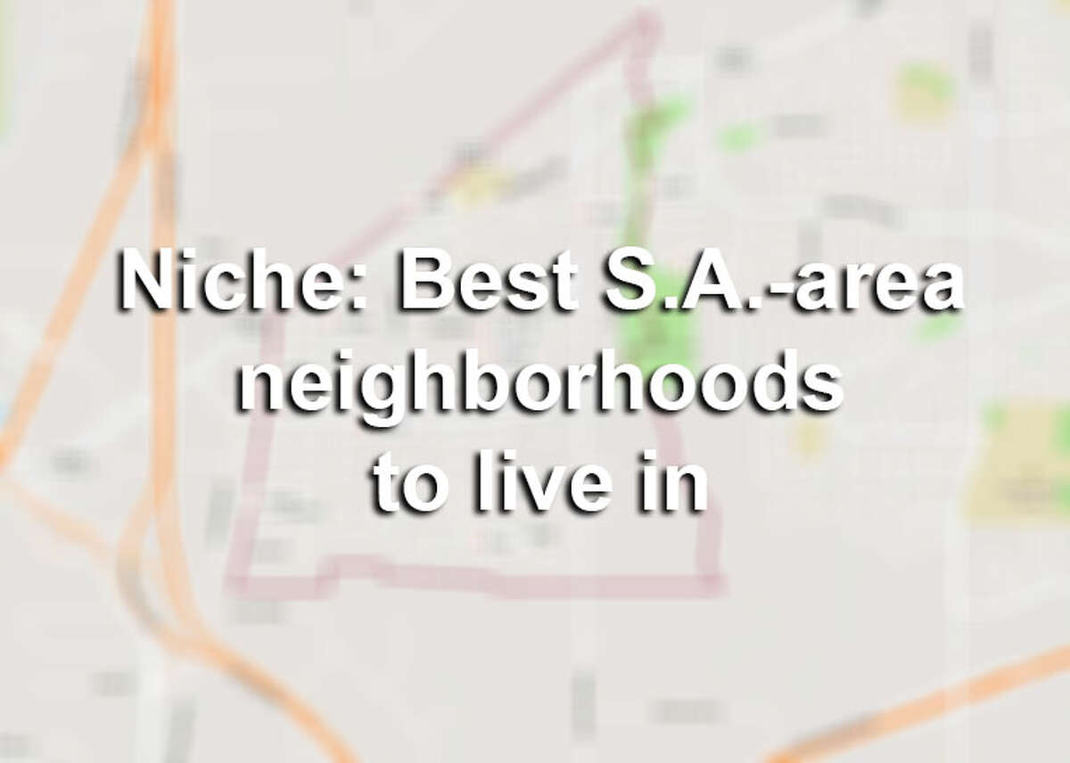 Take a look at the city neighborhoods that Niche named the Best Places to Live in 2018 in the San Antonio area in the slideshow ahead.
