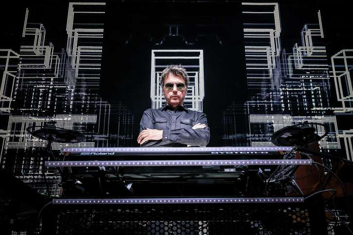 "Jean Michel-Jarre brings his ""Electronica"" tour to the Bay Area."
