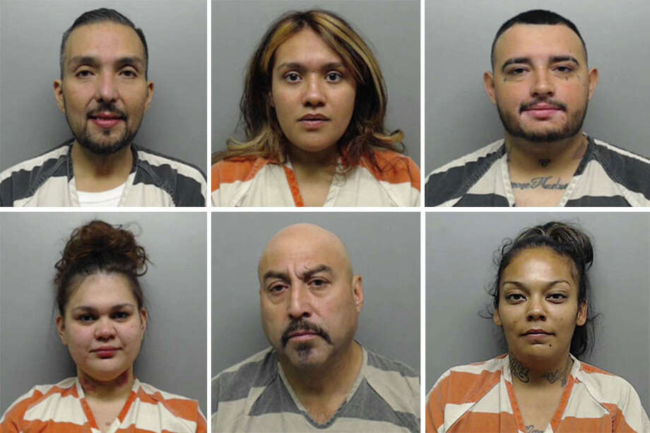 Click through this gallery to see mugshots of the 16 arrested on a variety of charges in 'Operation Gotcha.' Photo: Webb County Sheriff's Office