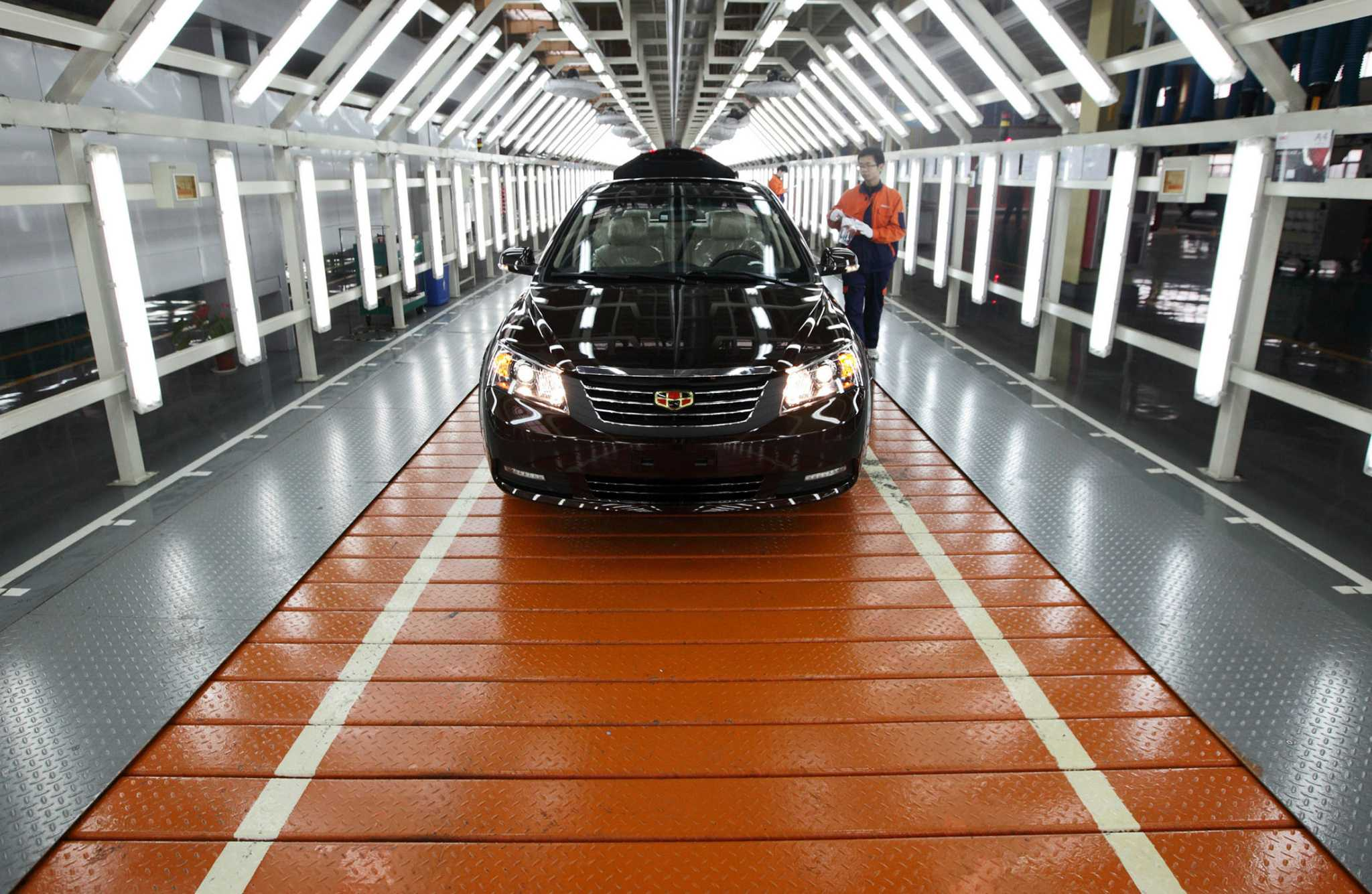 Tariffs may end Chinese car imports before they really start SFGate