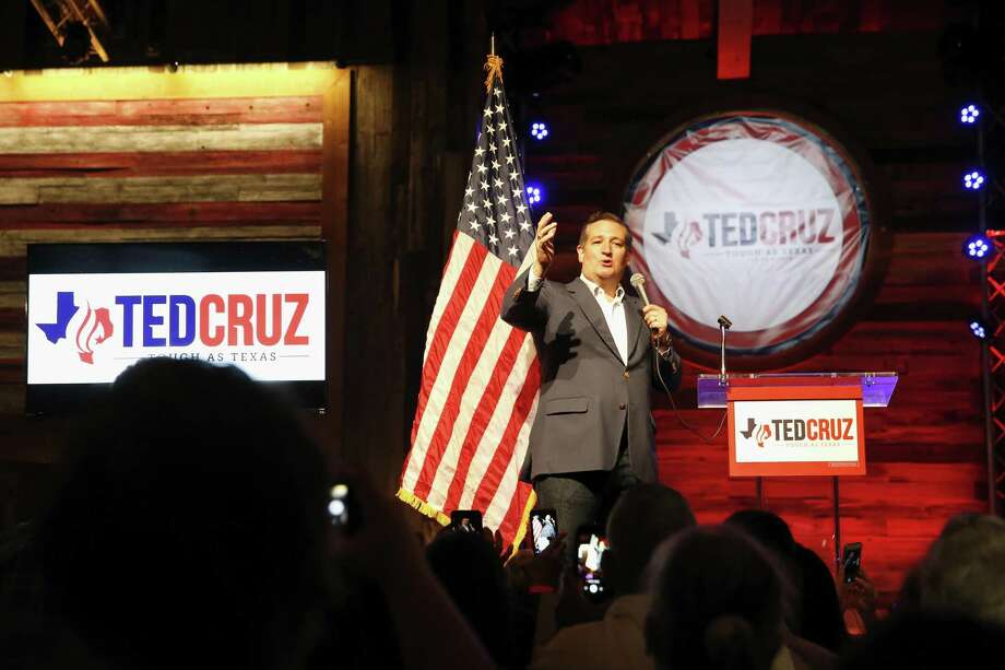 "U.S. Sen. Ted Cruz officially kicks off his campaign for the U.S. Senate pitching the slogan ""Texas Tough"" at the Redneck Country Club in Stafford, TX on Monday, April 2, 2018. Photo: Tim Warner, Freelance / For The Chronicle / Houston Chronicle"
