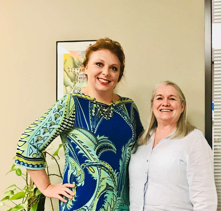 Amy Reed, left, took the reins of Keep Houston Beautiful on March 15 after Robin Blut, right, retired after more than three decades of service to Houston. Photo: Keep Houston Beautiful