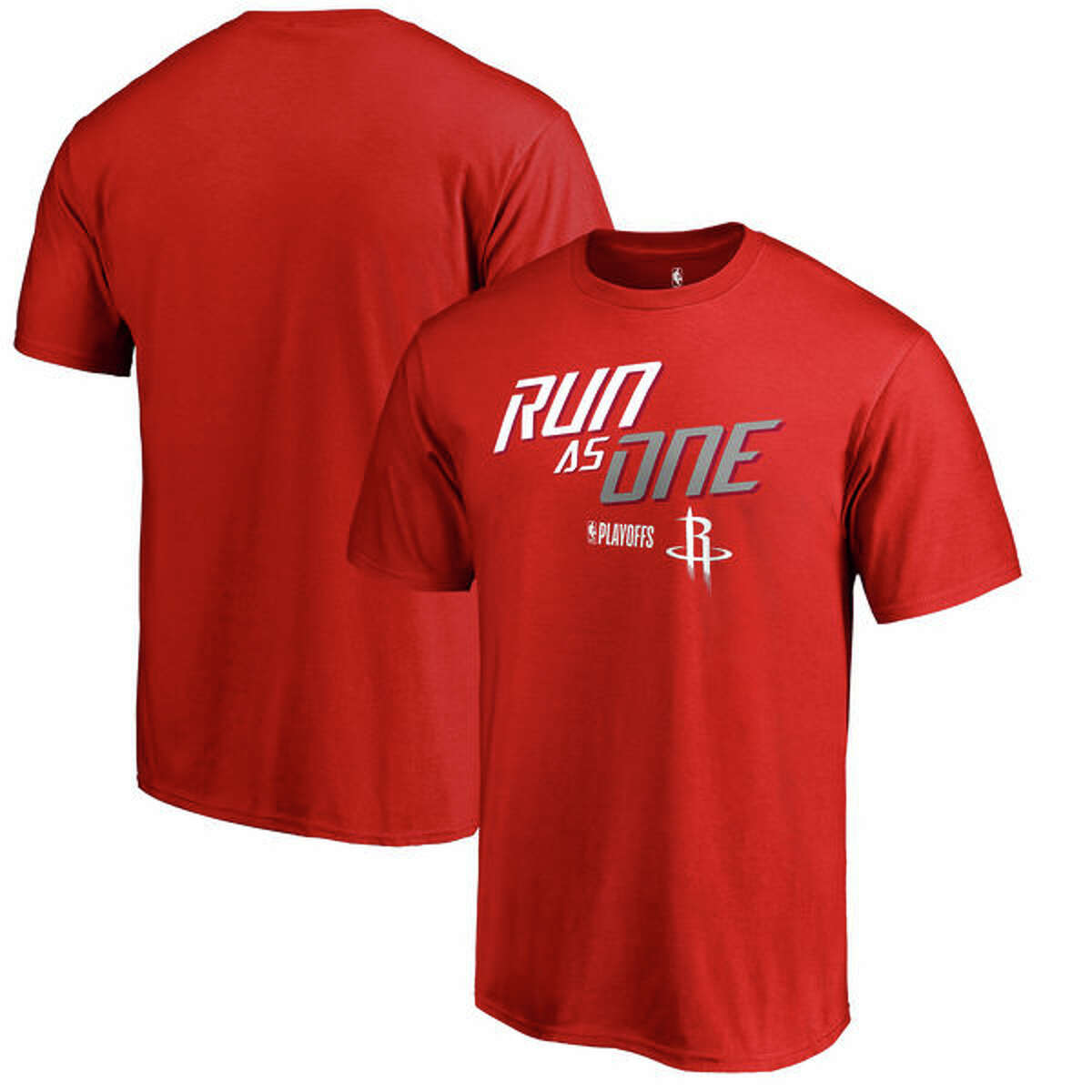 Houston Rockets Fanatics Branded 2018 NBA Playoffs Slogan T-Shirt (See Price or Buy It Now) Also available in Youth and Big & Tall sizes.