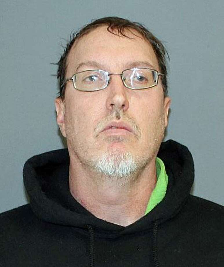 Christopher Galvin, 45, of Torrington, Conn., was charged with forth-degree sexual assault and second-degree harassment. He was released on a $5,000 bond and appeared in court on Wednesday, Jan. 17, 2018. Photo: Contributed Photo / Shelton Police Department / Contributed Photo / Connecticut Post Contributed