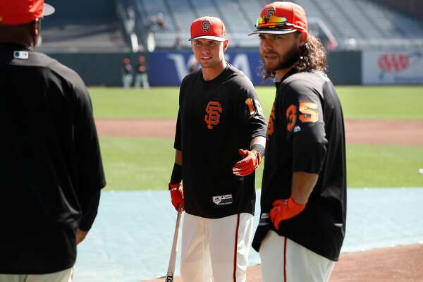 huge selection of b74fb b7181 Giants' Brandon Crawford's emotional response to Joe Panik's ...