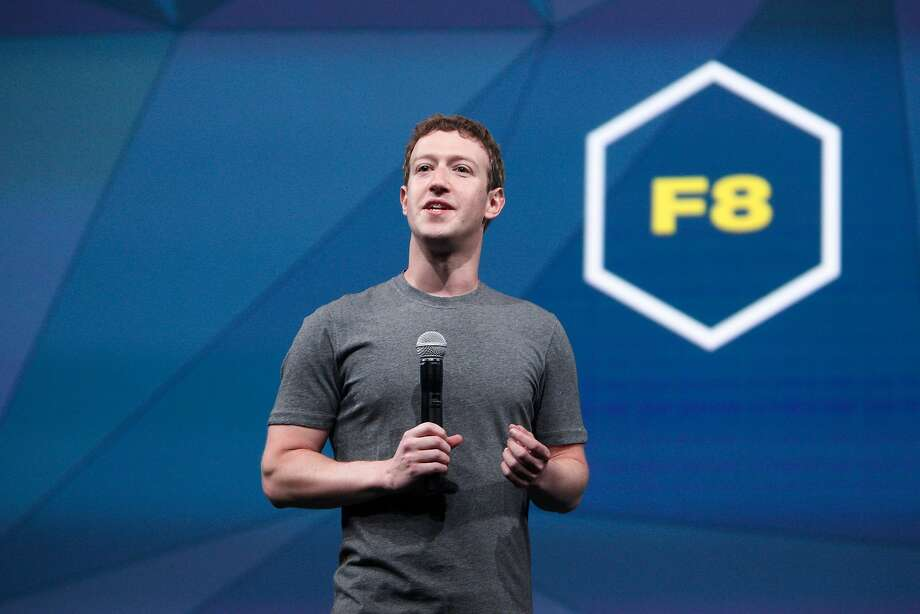 Mark Zuckerberg, Facebook chief executive officer, speaks during the opening keynote at Facebook's F8 developers conference in San Francisco in 2014. That hear, Facebook promised developers that it would wait two years after announcing changes to roll them out. Photo: Lea Suzuki / The Chronicle