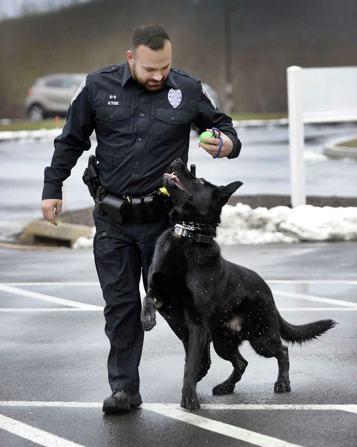 Connecticut S 40 Under 40 Class Of 2018: New K-9 Joins Brookfield Police's Ranks