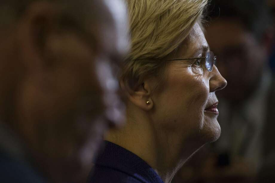 Sen. Elizabeth Warren is requesting that the Federal Reserve board hold a formal vote on the Wells Fargo plan to address abusive practices. Photo: Tom Williams / Congressional Quarterly