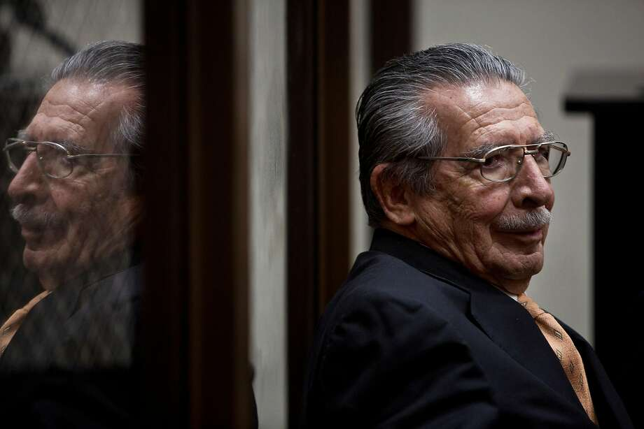 Former Guatemalan dictator Gen. Efran Rios Montt at a hearing in Guatemala City in 2013. Photo: VICTOR J BLUE;Victor J Blue / New York Times