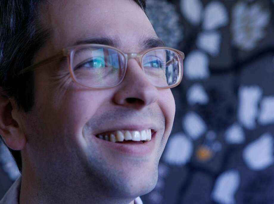 Anthony Marra won the $50,000 Simpson prize. Photo: Rohan Smith / The Chronicle 2013