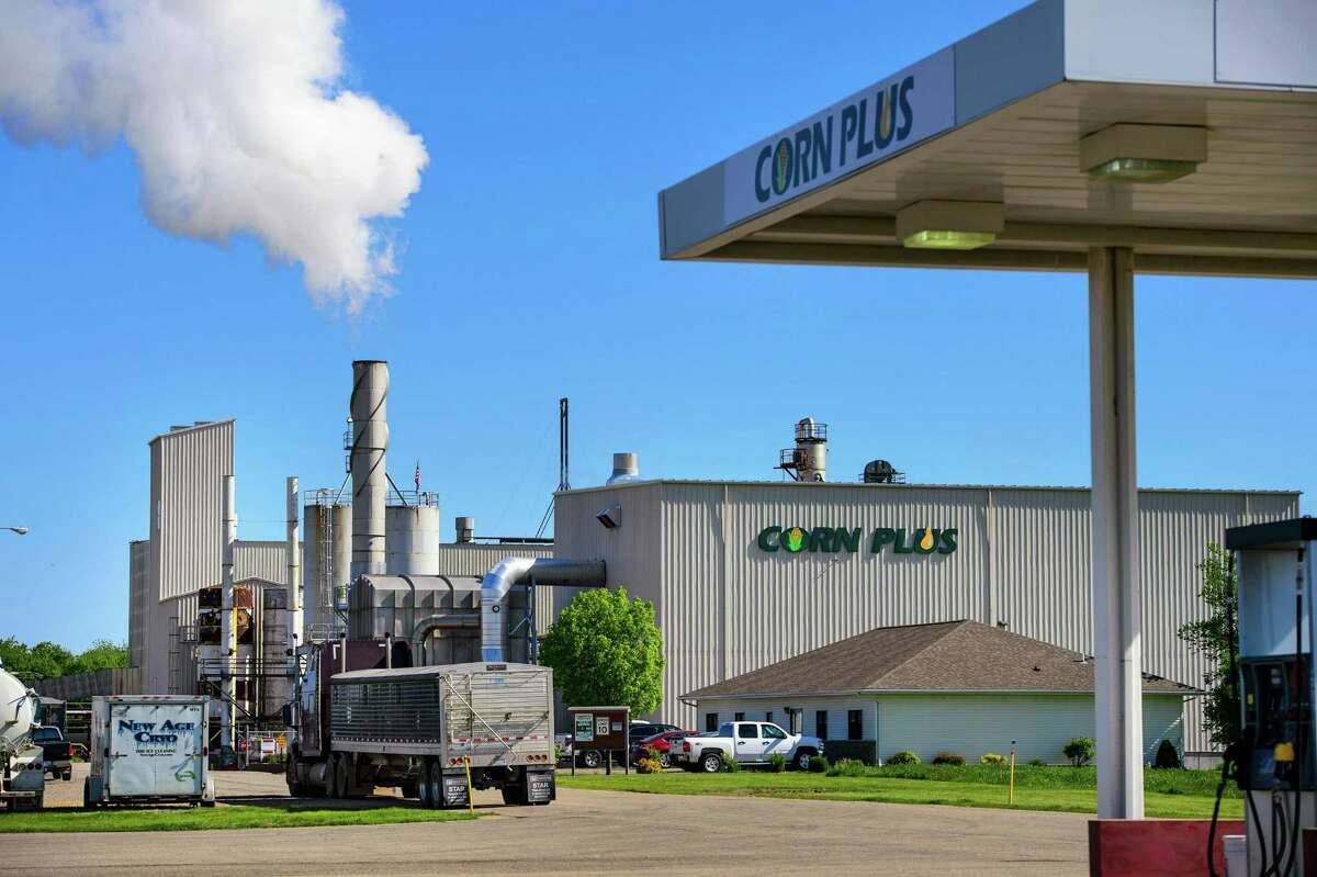 The Corn Plus ethanol plant on May 22, 2015 in Winnebago, Minn. (Glen Stubbe/Minneapolis Star Tribune/TNS)