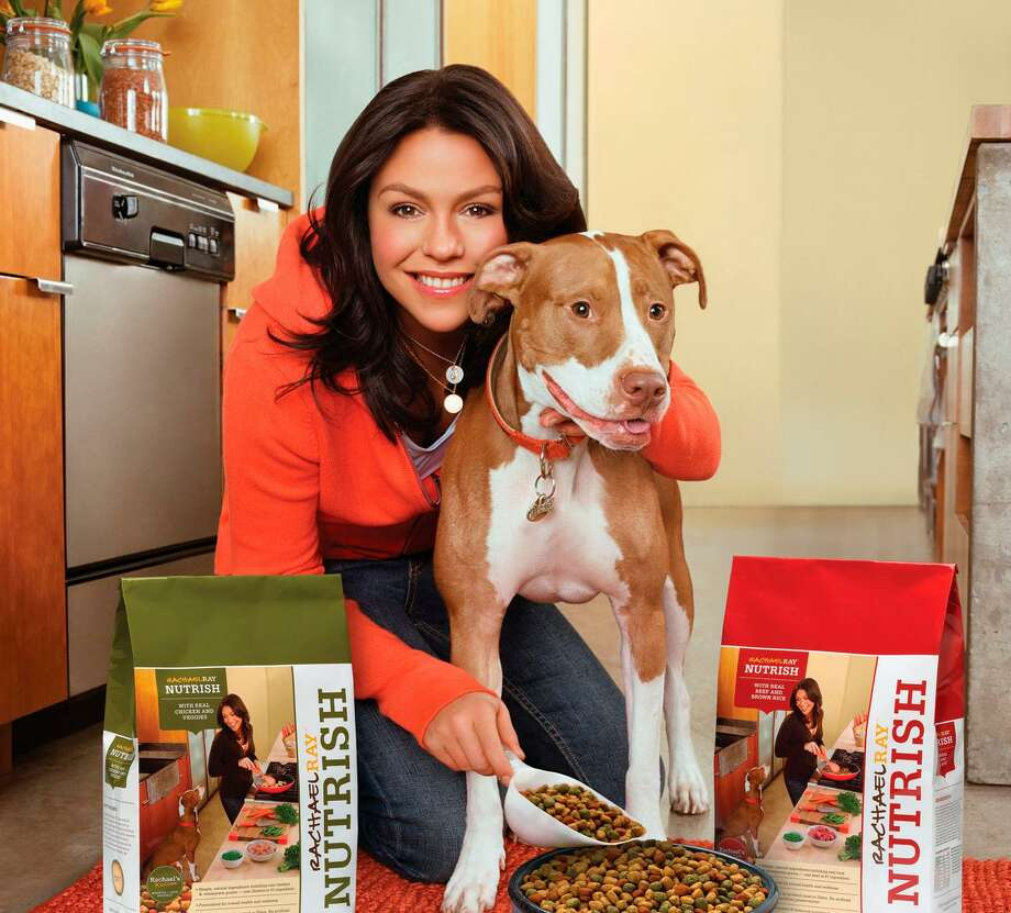 A promotional photo for Rachael Ray Nutrish pet food, whose parent company Ainsworth Pet Nutrition is being acquired for $1.9 billion by J.M. Smucker, in a deal announced April 4, 2018. Photo: AP Photo / Rachael Ray. / Courtesy of Rachael Ray