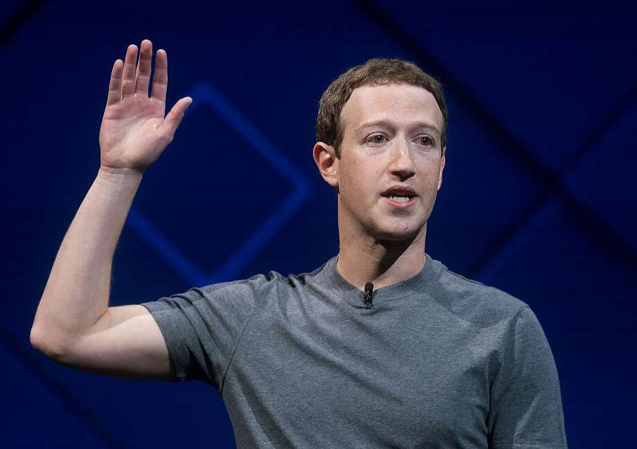 In this April 18, 2017 file photo, Facebook CEO Mark Zuckerberg speaks at his company's annual F8 developer conference in San Jose, Calif. The leaders of a key House oversight committee say Zuckerberg will testify before their panel on April 11. (AP Photo/Noah Berger, file) Photo: Noah Berger / Associated Press 2017