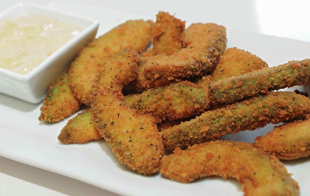 Avocado fries at Slidin' Dirty in Troy, N.Y. (Lori Van Buren / Times Union)