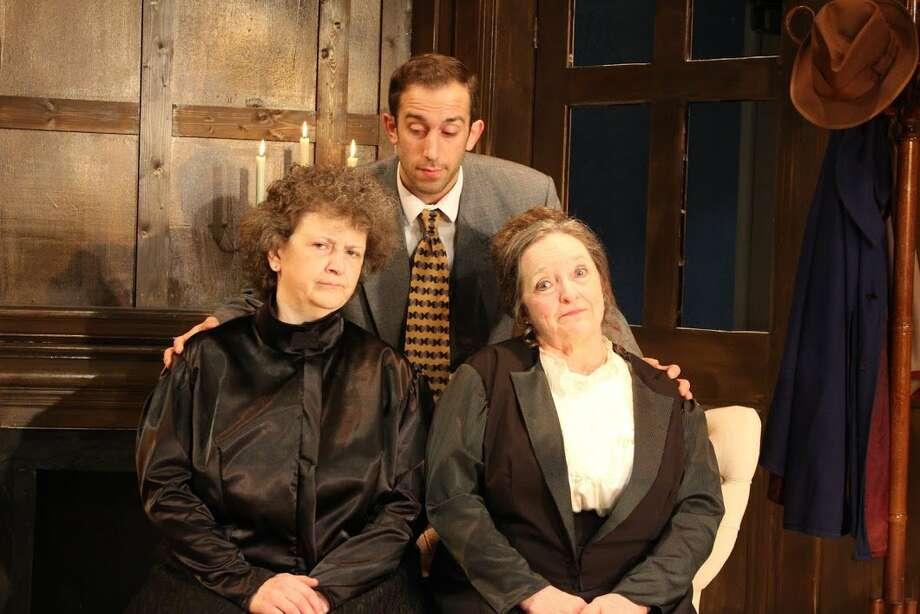 """Arsenic & Old Lace,"" Curtain Call Theatre, 1 Jeanne Jugan Lane, Latham. Photo: Amanda Brinke"