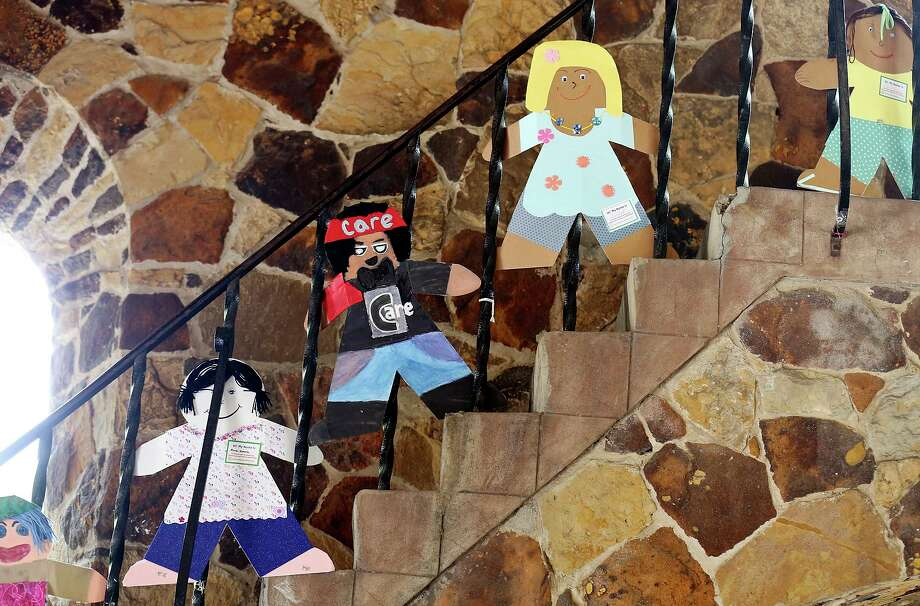 Detail of ChildSafe's Cardboard Kids on display in 2015 at the Joske Pavilion in Brackenridge Park. ChildSafe created the Cardboard Kids to raise awareness of child abuse. April is National Child Abuse Prevention month, but it is a yearlong concern. Photo: Edward A. Ornelas /San Antonio Express-News / © 2015 San Antonio Express-News