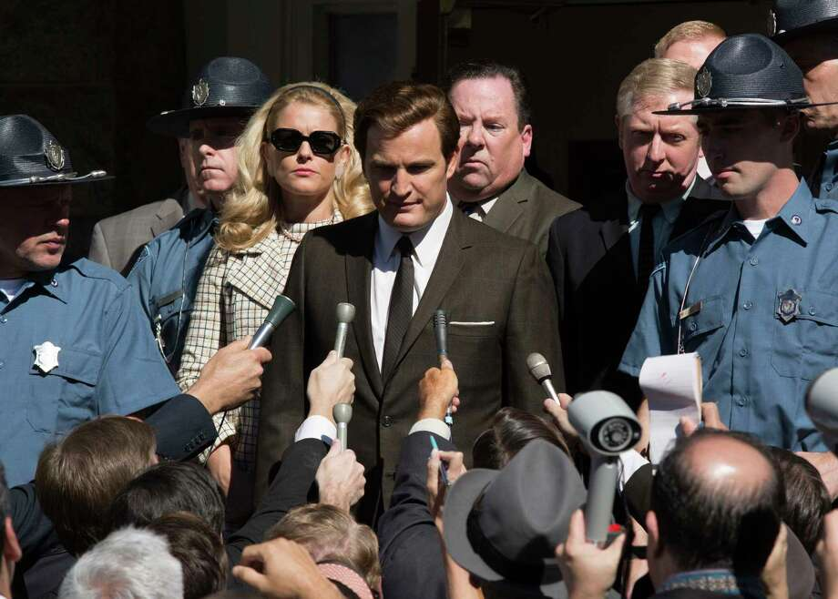 "This image released by Entertainment Studios shows Jason Clarke as Ted Kennedy, center, and Andria Blackman stars as Joan Kennedy in a scene from ""Chappaquiddick."" (Claire Folger/Entertainment Studios via AP) Photo: Claire Folger / @ 2016 Bridgewater Picture Finance, LLC. All Rights Reserved."