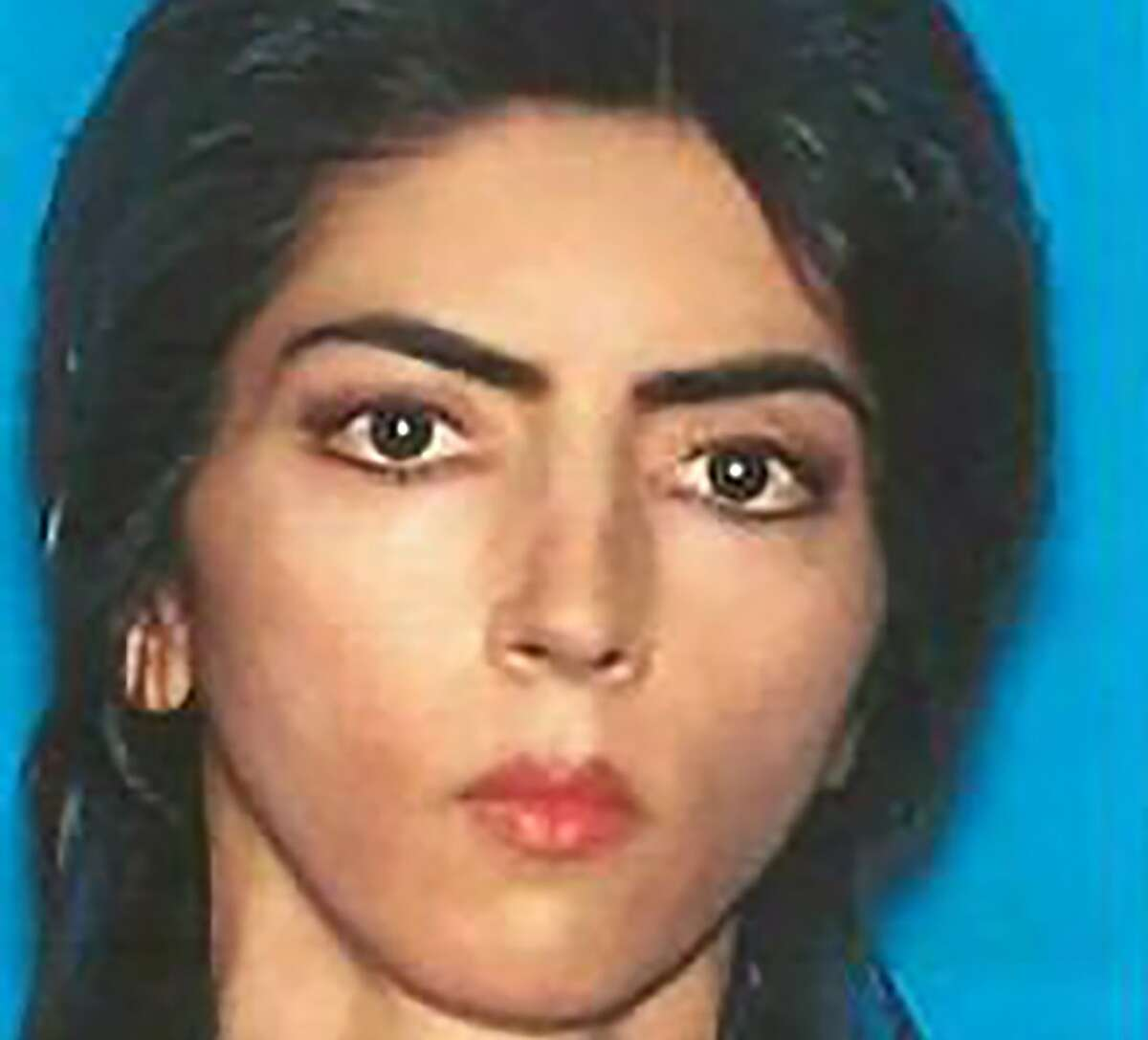This undated photo obtained April 4, 2018 courtesy of the San Bruno Police Department shows shooting suspect Nasim Najafi Aghdam.