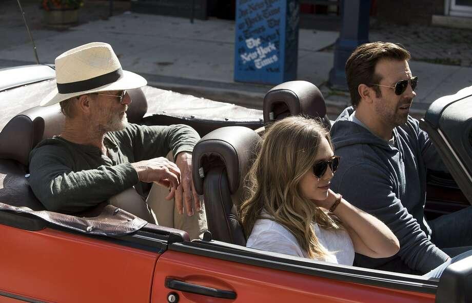 "Ed Harris, Elizabeth Olsen, and Jason Sudeikis take a road trip to new York in ""Kodachrome."" Photo: Netflix"