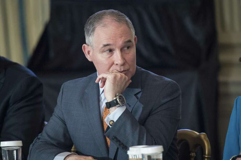 EPA Administrator Scott Pruitt, shown above at the White House in February, has faced scrutiny over his first-class travel. Photo: Jabin Botsford, The Washington Post / The Washington Post / The Washington Post