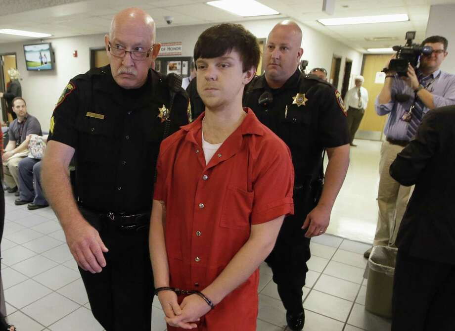"FILE - In this Feb. 19, 2016, file photo, Ethan Couch is led to a juvenile court for a hearing in Fort Worth, Texas. Couch, who used an ""affluenza"" defense in a fatal drunken-driving wreck in 2013, was released from jail Monday, April 2, 2018, after serving nearly two years for a revoked probation. (AP Photo/LM Otero, File) Photo: LM Otero, STF / Associated Press / Copyright 2018 The Associated Press. All rights reserved."