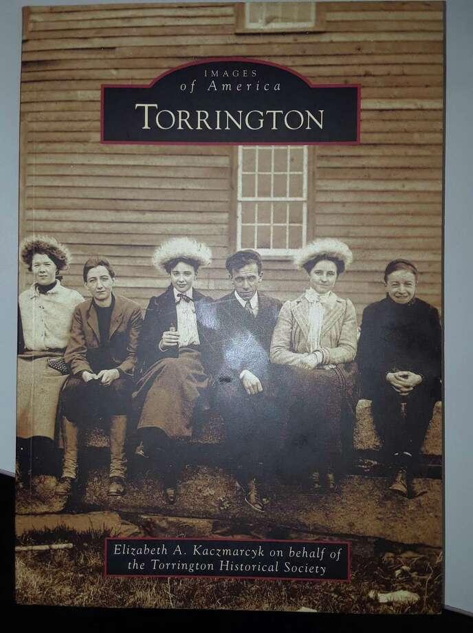 """Images of America: Torrington"" by Elizabeth A. Kaczmarcyk. Photo: Emily M. Olson / Hearst Connecticut Meda"