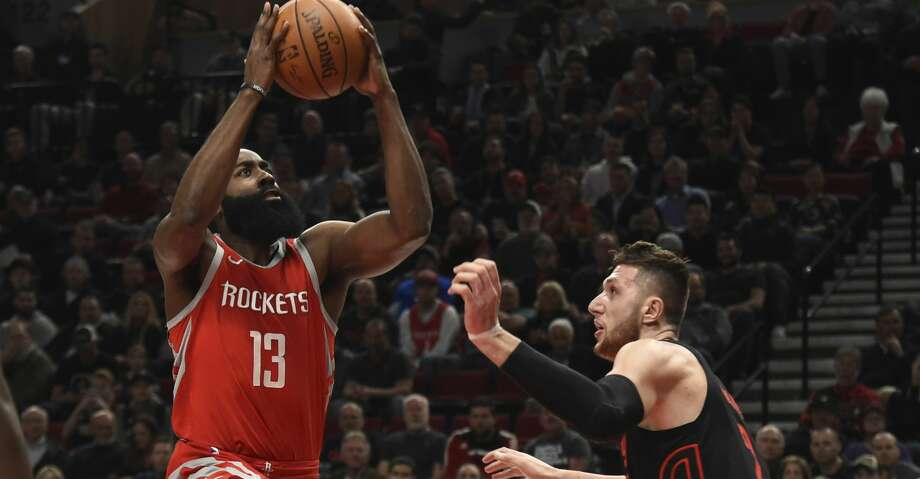 PHOTOS: Rockets game-by-gameJames Harden has averaged 45 points on 53.7
