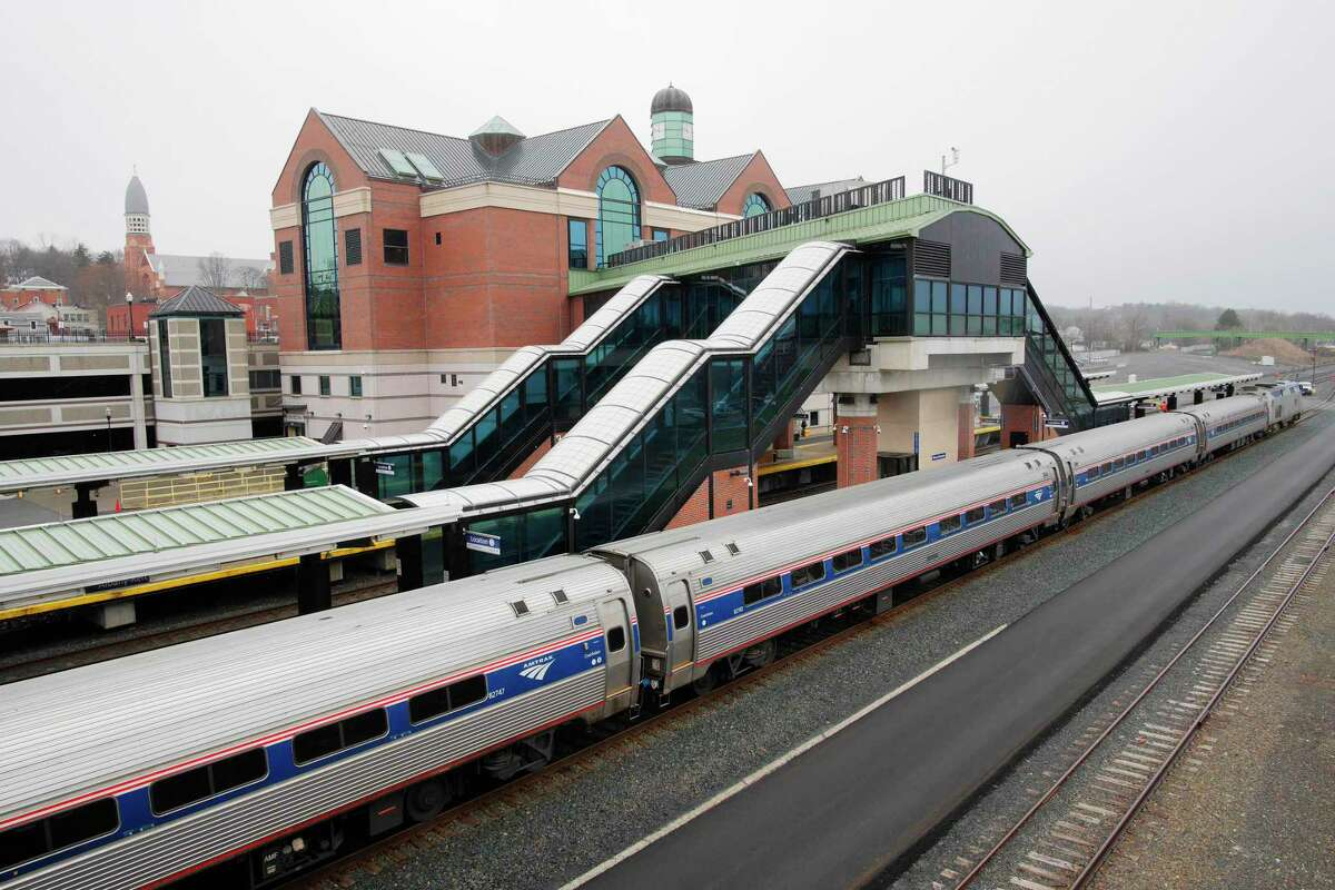 A view of the Albany/Rensselaer Amtrak station on Tuesday, April 3, 2018, in Rensselaer, N.Y. (Paul Buckowski/Times Union)