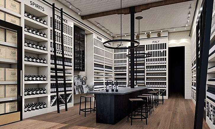 A rendering of the Fillmore St. location of Verve Wine, which will open May 12