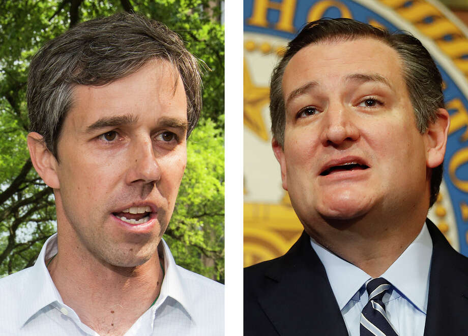 Rep. Beto O'Rourke, D-Texas, left, and U.S. Sen. Ted Cruz, R-Texas, have agreed to three hour-long debates starting Sept. 21.