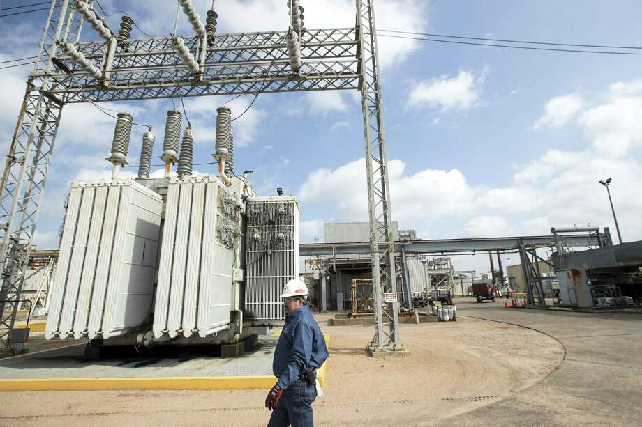 Robert Harris, plant manager, walks through NRG's TH Wharton Generating Station on Tuesday, April 3, 2018, in Houston. NRG is preparing its Houston-area power plants for the summer as Texas is expected to shatter power demand records and the state's power reserves are the lowest they have been in nearly a decade. ( Brett Coomer / Houston Chronicle ) Photo: Brett Coomer,  Staff / Houston Chronicle / © 2018 Houston Chronicle