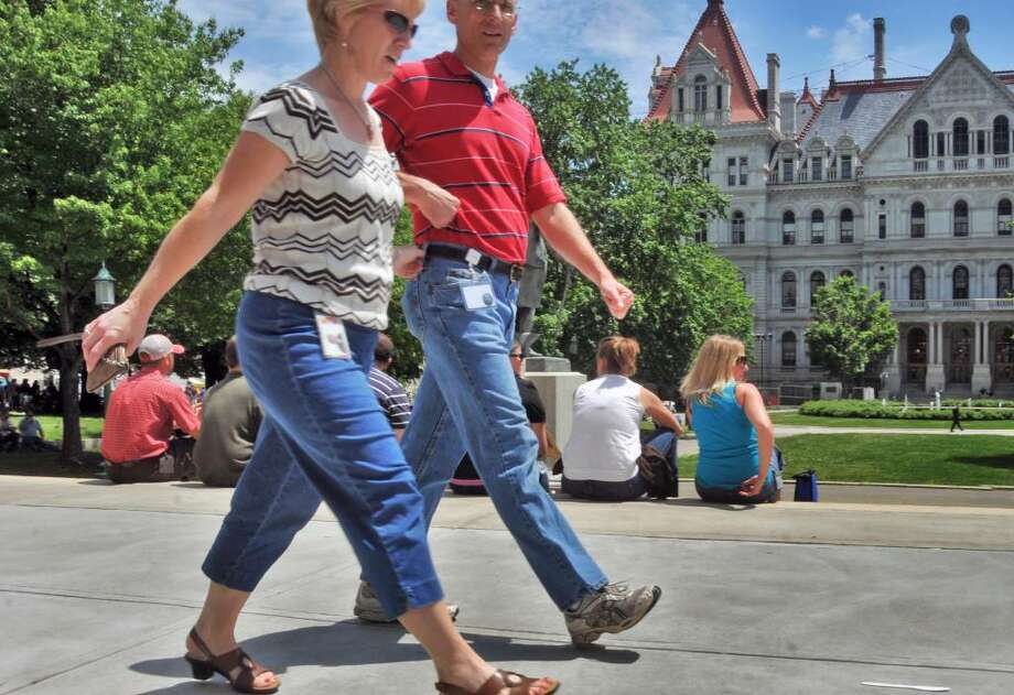 Public employees have a new early retirement option to consider after the Legislature approved a 55/25 option for state and local workers.  (John Carl D'Annibale / Times Union) Photo: John Carl D'Annibale