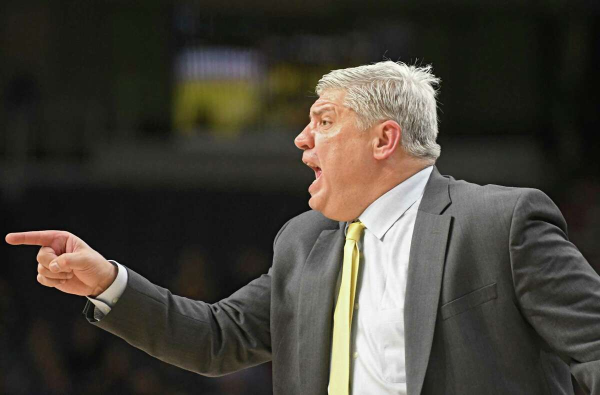 Keep clicking for more colorful moments in area college sports. Jimmy Patsos, who coached the Siena men's basketball team, resigned in April 2018 after reports surfaced that he allegedly abused a student manager and withheld per diem payments from players and team aides.Keep clicking for a few more colorful moments, some good and some notorious, in Capital Region college sports history.