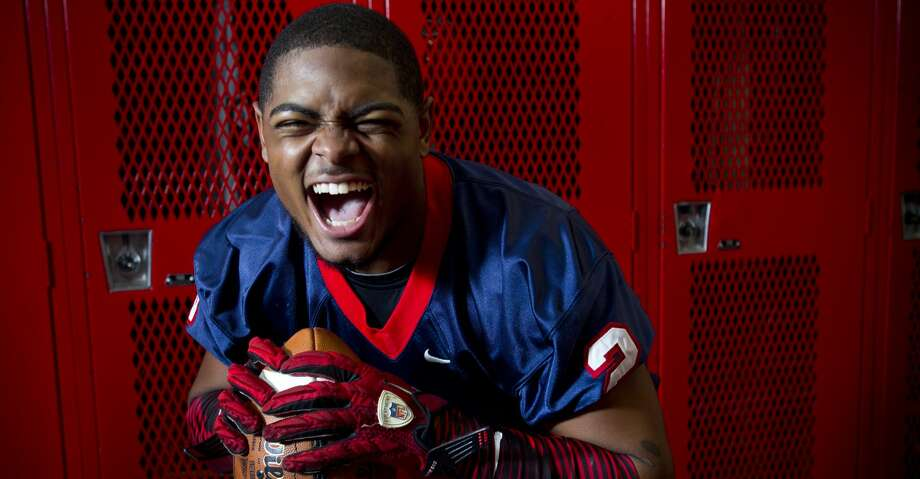 Alief Taylor senior cornerback Chris Hardeman poses for a portrait Tuesday, July 9, 2013, in Houston. ( Brett Coomer / Houston Chronicle ) Photo: Brett Coomer/Houston Chronicle