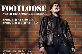 North Branford High School Drama Club perform during the dress rehearsal of Footloose, Wednesday, April 4, 2018, at the North Branford Auditorium. Performances are April 5 at 6:30 p.m., April 6 and 7 at 7 p.m. Tickets are $8 for Thursday, Friday and Saturday, $14 for adults, kids and seniors, $12. Advance tickets, $12 for adults and $10 for kids and seniors.