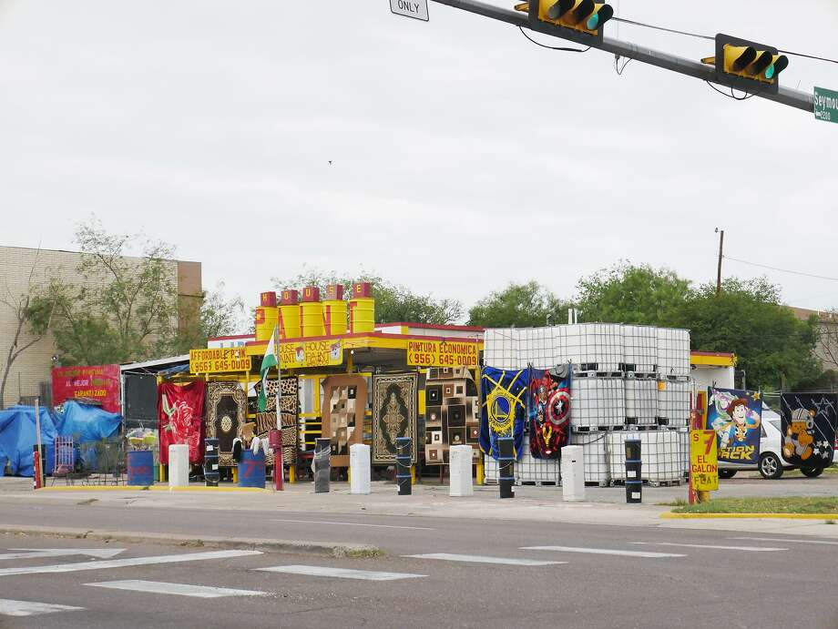 The owner of Laredo Paint Depot, 1420 Clark Blvd., believes that Councilman Alex Perez' ordered inspection of his business was retaliation against him after refusing to put his political campaign signs on his property.  Photo: Cuate Santos /Laredo Morning Times / Laredo Morning Times