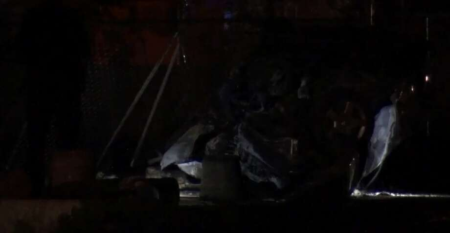 2 dead in fiery rollover crash NW of Houston - Houston Chronicle