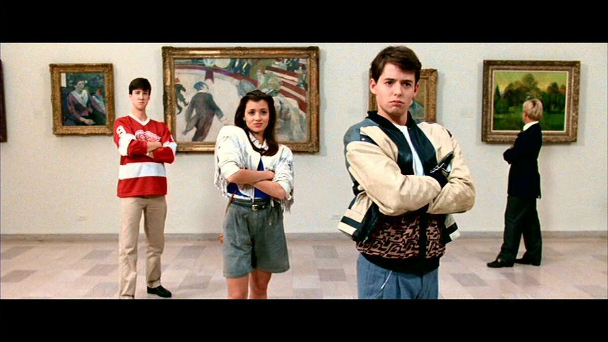 """The 1986 John Hughes film, """"Ferris Bueller's Day Off,"""" starred from left, Alan Ruck, Mia Sara, and Matthew Broderick. Have you not seen """"Ferris Bueller's Day Off""""? Oh man... you need to get started on this list of 50 """"old"""" movies that every young person needs to watch. Keep clicking for the full list."""