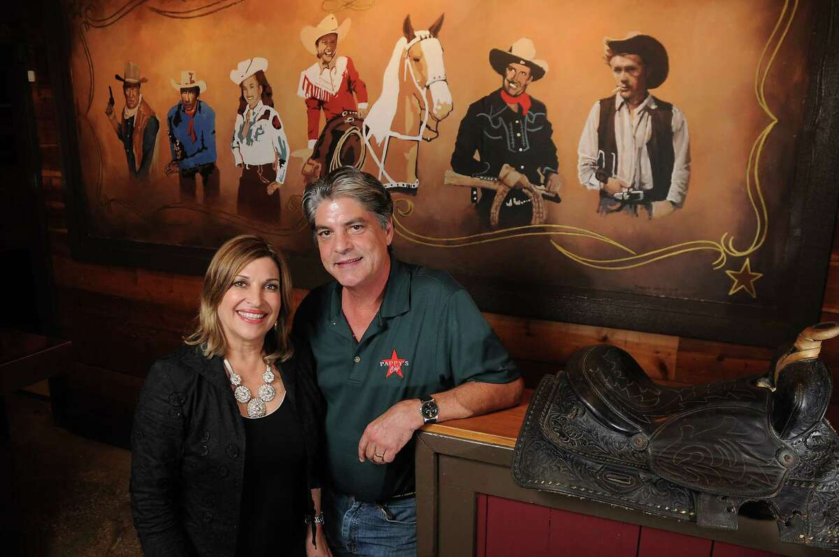 Pappy's Cafe owners Lydia and Paul Braden at the new Pappy's Cafe at 12313 Katy Freeway.