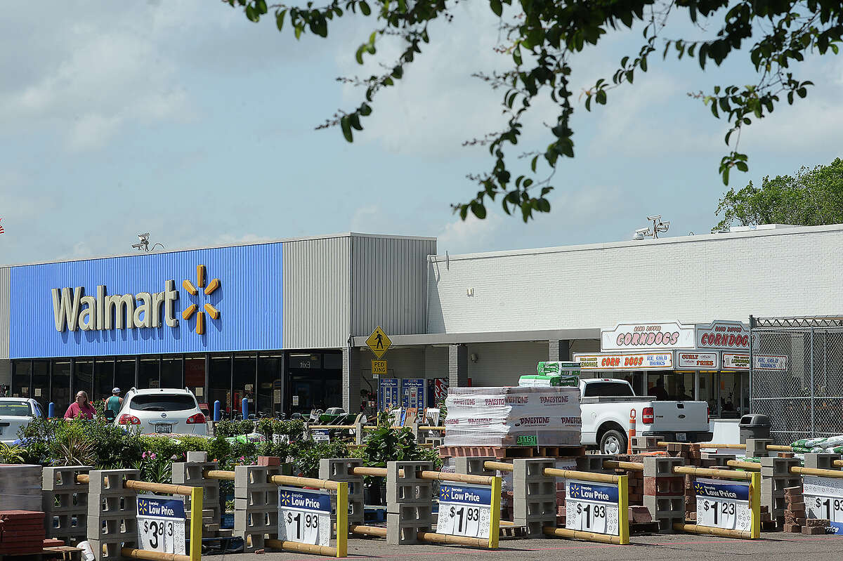 Bridge City's Wal-Mart will be getting upgrdaes and renovations. Photo taken Tuesday, April 3, 2018 Kim Brent/The Enterprise