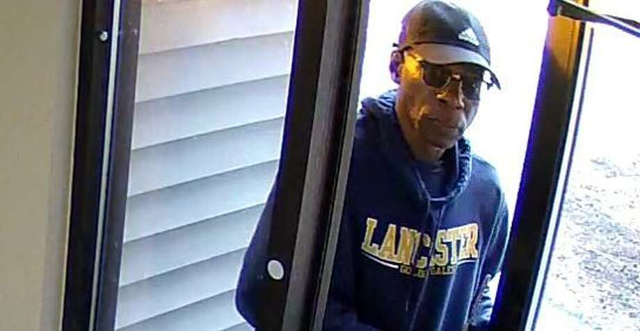 Cromwell authorities are looking to identify this man, who they believe committed a spate of burglaries in town last month. Photo: Cromwell Police Photo