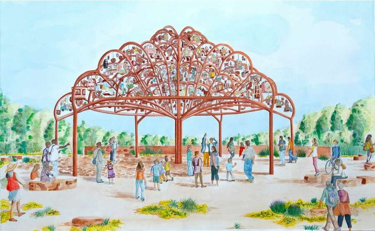 Renderings show what the latest public art installation will look like in San Antonio.