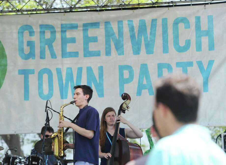 The Echoes perform during the Greenwich Town Party in 2016. Tickets are always in hot demand for the annual event. Photo: Bob Luckey Jr. / Hearst Connecticut Media / Greenwich Time