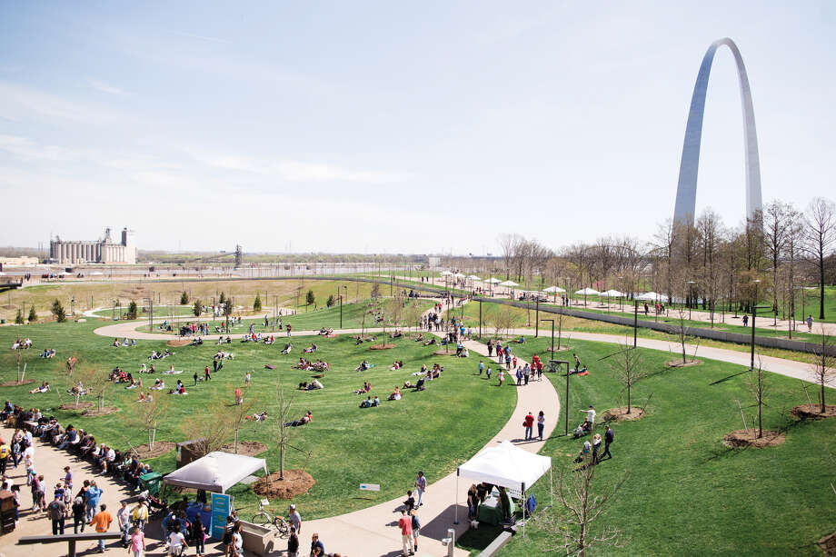 The Gateway Arch grounds will be the place to be on April 7 for Spring into Your Park. Photo: For The Edge