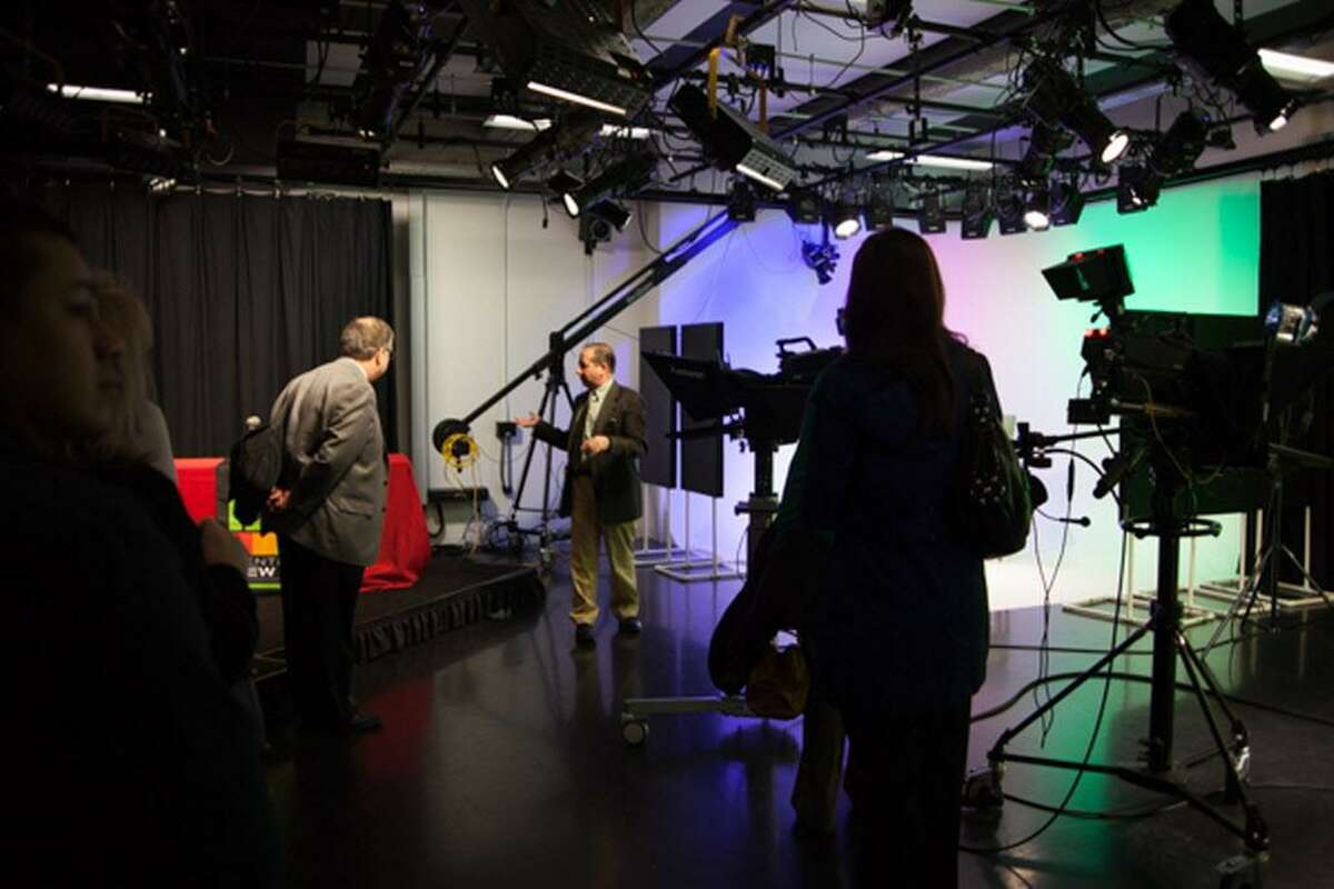 Middlesex Community College's Center for New Media has state-of-the art studios and equipment.