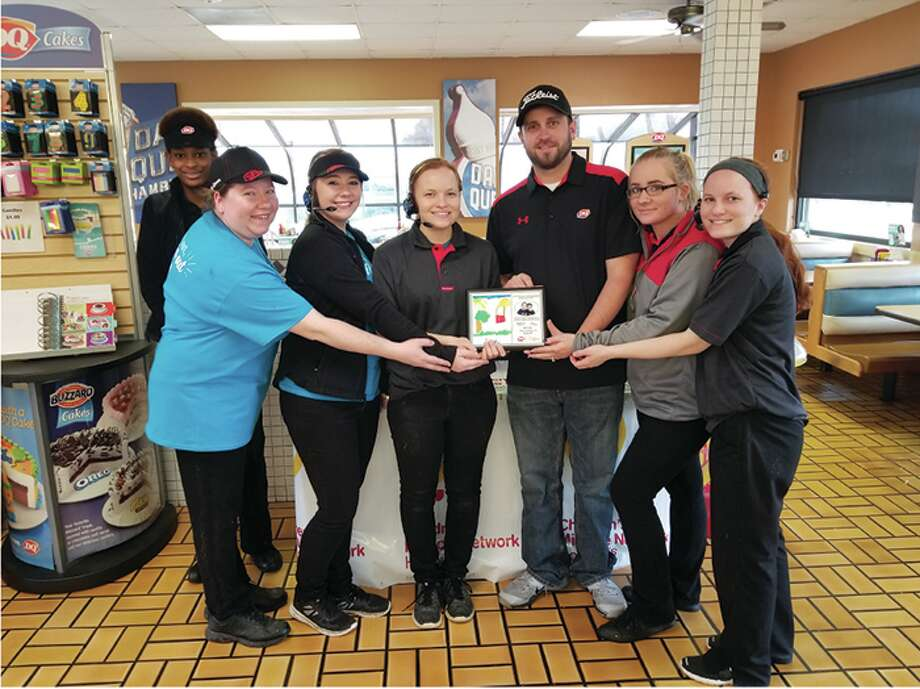 Members of the Glen Carbon Dairy Queen staff. Photo: For The Intelligencer