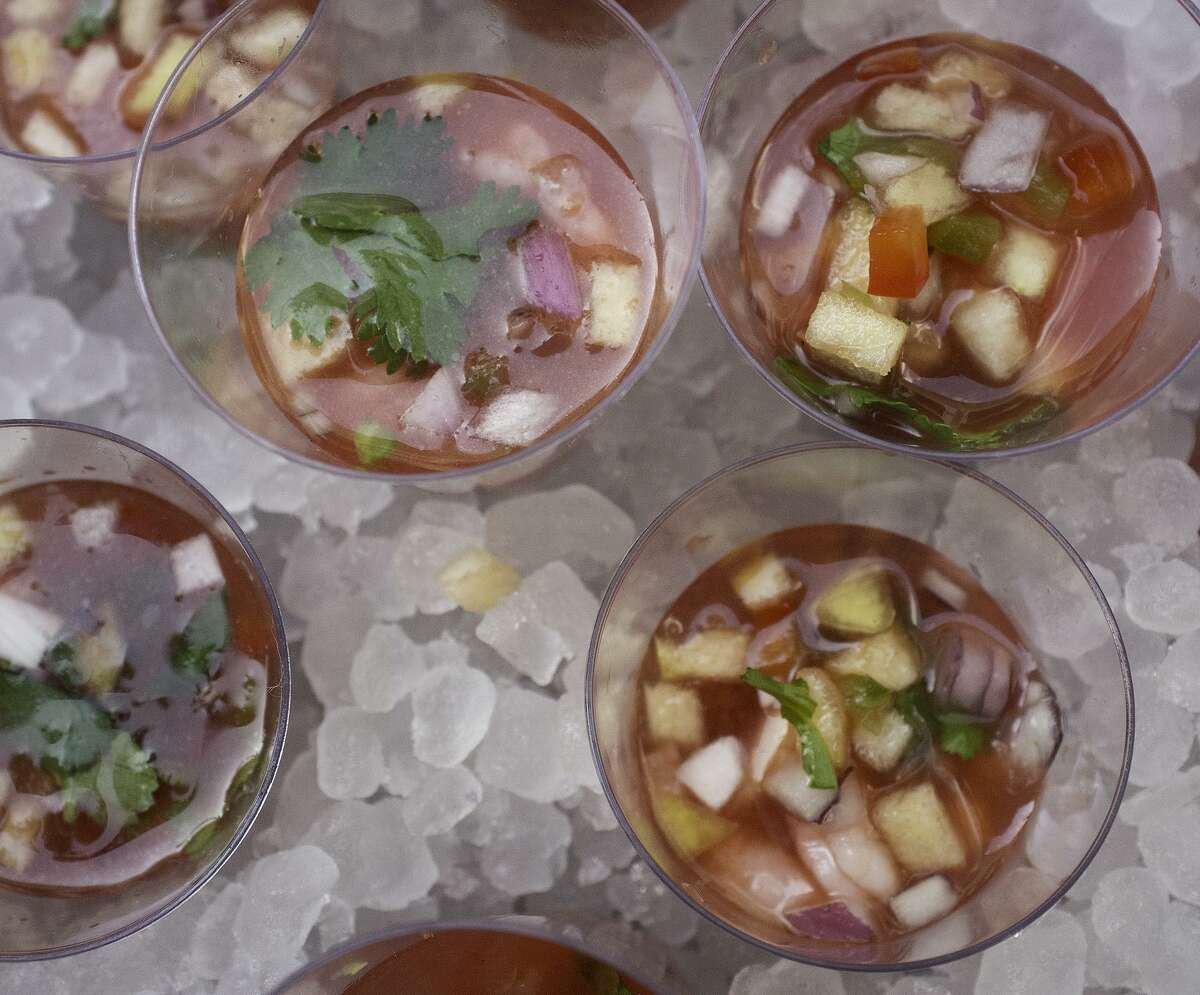 Shrimp and Watermelon Ceviche from 20Nine Restaurant and Wine Bar served during a previous Culinaria Wine + Food Festival.