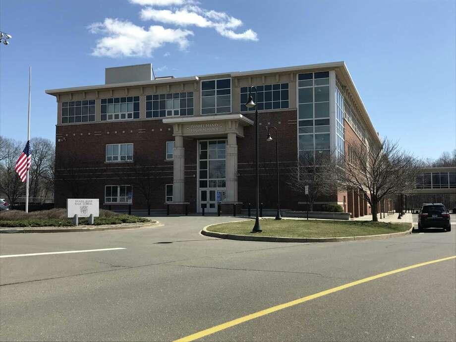 Daniel Hand High School Photo: Sarah Page Kyrcz, / For Hearst Connecticut Media